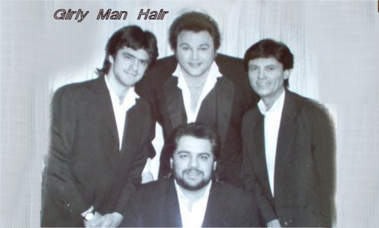Girly Man Hair - On the ONE on the Middle